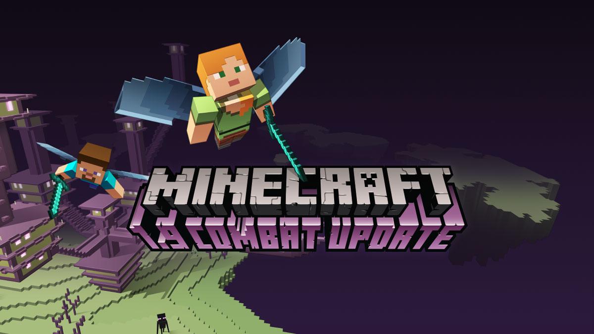 Картинка 2 Minecraft 1.9: эпические сражения в популярной строительной песочнице