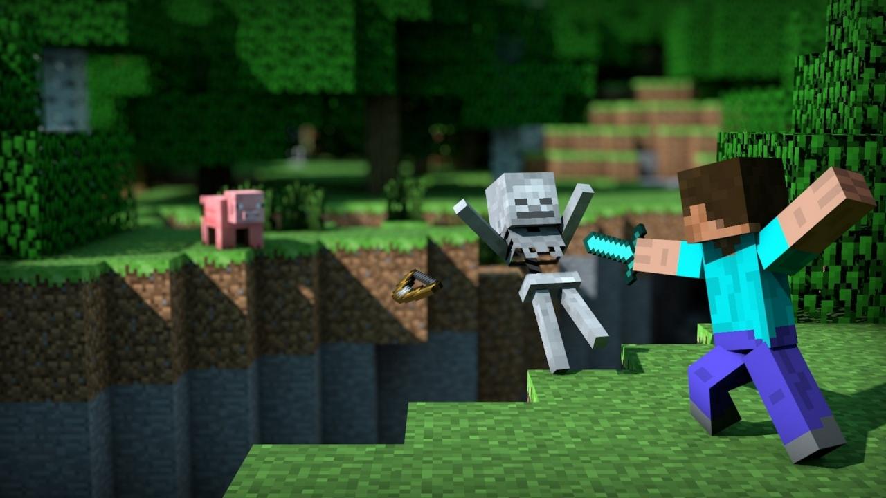Картинка 3 Minecraft 1.9: эпические сражения в популярной строительной песочнице