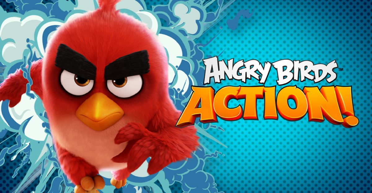 Картинка 1 Angry Birds Action! уже доступен на Google Play!